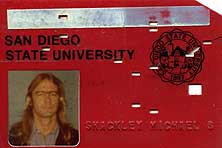 Figure 5.1 Shackley's 1977 SDSU ID card. Courtesy of M. Steven Shackley.