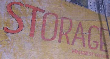 Close-up photograph of moving van inscription. Courtesy of Seth Mallios.